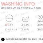 세탁정보표 1