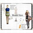 모델사이즈표 21