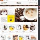 커피향 가득한 커피브라운