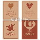 발렌타인 빈티지 카드