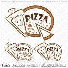 피자 전문점 로고 1
