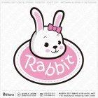 토끼 캐릭터 로고 1