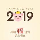 2019 새해 인사 팝업