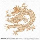 한국전통 용 패턴 078