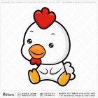 아시아 닭띠 캐릭터 01