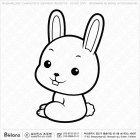 칼라링 토끼띠 캐릭터 02