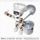 요리사 로봇캐릭터 엄지척