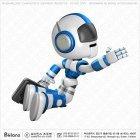 로봇 캐릭터 점프