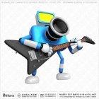 카메라 캐릭터 기타 연주