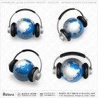지구본과 헤드폰 204