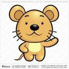 아시아 쥐띠 캐릭터 06