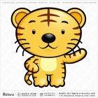 아시아 범띠 캐릭터 06