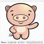 아시아 돼지띠 캐릭터 06
