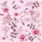 핑크꽃 패턴