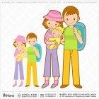 즐거운 가족여행 그림