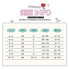 SS28 유아동표준사이즈표