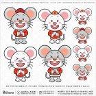 중국 쥐캐릭터 세배