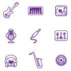음악 픽토그램 1