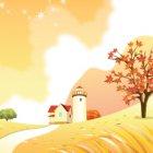 가을 배경이미지 2