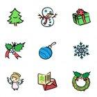 크리스마스 아이콘 7