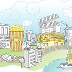 영화관 마을 2