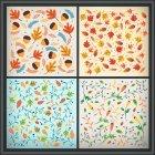 가을배경 패턴