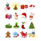 크리스마스 아이콘 19