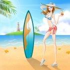 해변의 여인 4