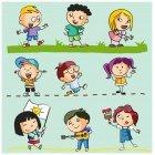 어린이 캐릭터 2