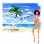 해변의 여인 12