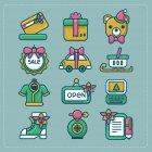 크리스마스 아이콘 64