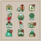 크리스마스 아이콘 61