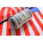 달러와 국기 13