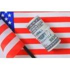 달러와 국기 17